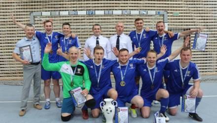 Команда УСК по Гомельской области одержала победу на открытом турнире по мини-футболу
