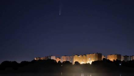Последний шанс увидеть в небе над Беларусью: 23 июля комета Neowise подошла максимально близко к Земле