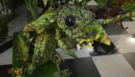 Меганевра и ракоскорпион: гигантские насекомые поселились в гомельском дворце