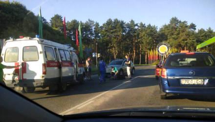 В Светлогорске на перекрёстке возле школы искусств сбили женщину