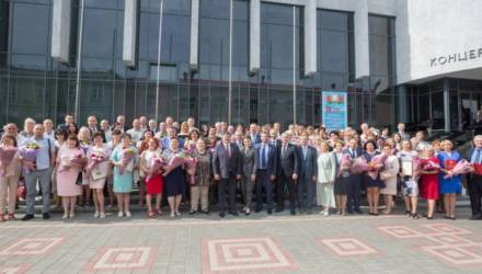 В Гомеле прошло областное торжественное собрание по случаю вручения наград медицинским работникам