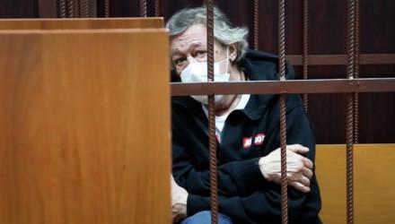 Михаил Ефремов отказался признать вину в ДТП с погибшим