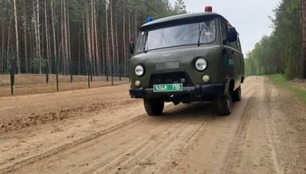 Гомельские пограничники задержали россиянина, который пытался незаконно попасть в Украину