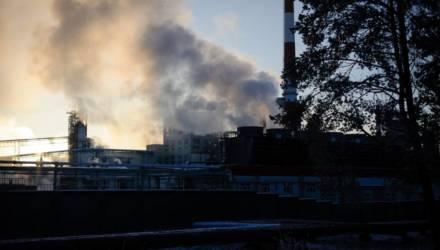 90% ожогов. В Светлогорске на заводе произошло ЧП — два человека в тяжёлом состоянии