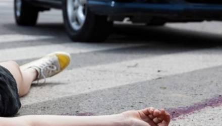 В Гомеле водитель сбил подростка на пешеходном переходе и скрылся