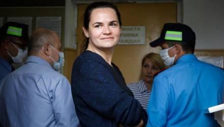 «Я не оратор, просто достало всё». Тихановская пыталась попасть на рассмотрение очередного протокола мужа
