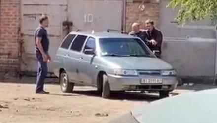 """""""Луцк-2"""": в Полтаве мужчина с гранатой захватил заложника (видео)"""