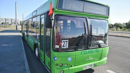 По просьбе гомельского дачника: первый с утра автобус № 27а поедет раньше