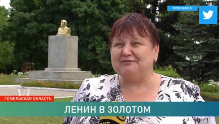 Загадочная история с исчезновением Ленина на Гомельщине: памятник вернули на место