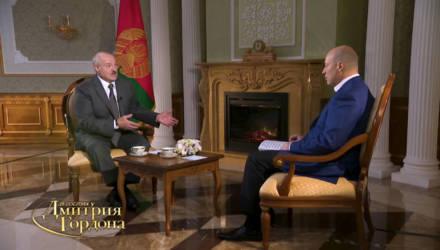 На YouTube-канале «В гостях у Гордона» появилось полное интервью с Александром Лукашенко (видео)