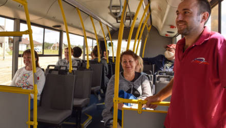 С 1 августа в застройке жилого района Романовичи второй очереди строительства продлены маршруты автобусов