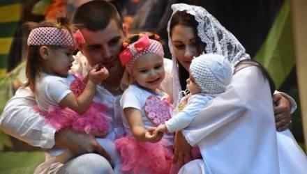 В Беларуси созданы все условия, чтобы рожать и растить детей - многодетная мама из Гомельского района
