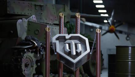 Рабочие БМЗ изготовили логотип World of Tanks в честь 10-летия культовой онлайн-игры