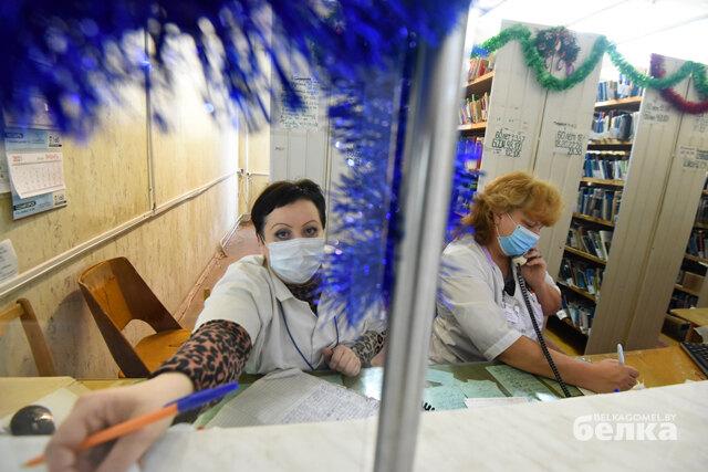 «Поднялась температура? Оставайтесь дома». Как работает гомельская поликлиника в условиях второй волны COVID-19