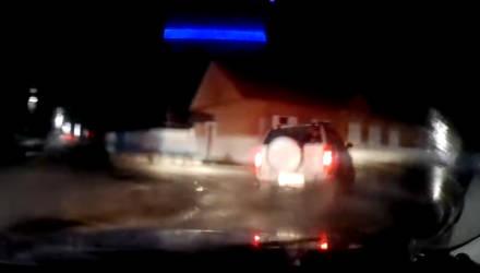 На Гомельщине гаишники гнались за пьяным водителем: пришлось стрелять по колёсам