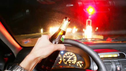 """Уже завтра ГАИ Гомельщины начнёт """"облаву"""" на пьяных водителей"""