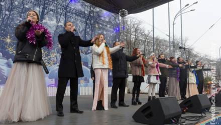На площади Ленина в Гомеле прошёл Рождественский концерт