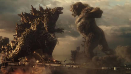 """Трейлер фильма """"Годзила против Конга"""" собрал за два дня более 25 млн просмотров и сотни едких комментариев"""