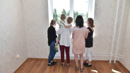 Более 2,1 тыс. многодетных семей Гомельской области улучшили жилищные условия в 2020 году