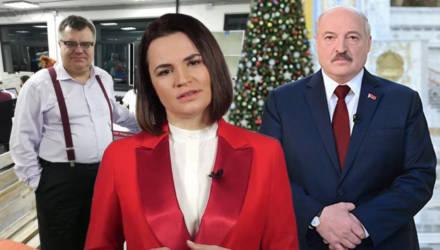 Бабарико, Тихановская и Лукашенко поздравили белорусов с Новым годом
