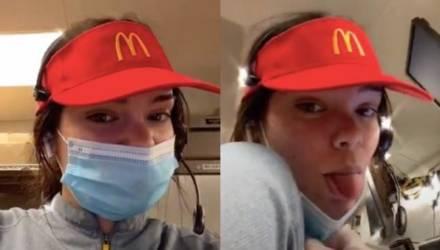Девушка показала кухню «Макдоналдса», и фаны фастфуда напуганы. Ведь после такого мороженое уже не закажешь