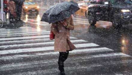Из-за сильных осадков и ветра в Беларуси на вторник объявили оранжевый уровень опасности