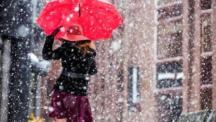 Небольшой мокрый снег и до+9. Погода в Гомеле в первую неделю весны