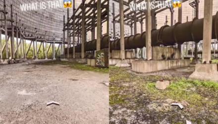 """Парень изучал Чернобыль с помощью """"Гугл-карт"""" и случайно нашёл гору костей, которая окутана тайной"""