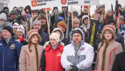 Более тысячи участников собрала «Гомельская лыжня-2021»
