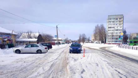 В Речице водитель проехал на красный сигнал светофора и сбил второклассника