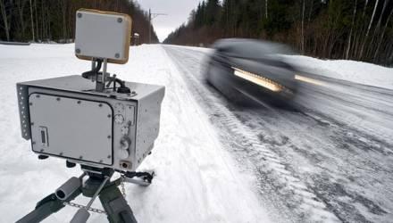Где на Гомельщине будут установлены датчики контроля скорости уже в ближайшие дни