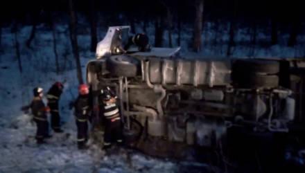 ДТП в Гомельском районе: работники МЧС спасли водителя при помощи топора