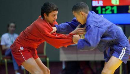 Илья Майоров из Новой Гуты стал бронзовым призёром чемпионата страны по самбо