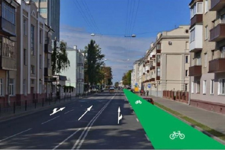 Как изменятся улицы Гомеля после обустройства велодорожек