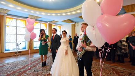 Дошутились до загса. Необычная регистрация брака в Советском районе Гомеля