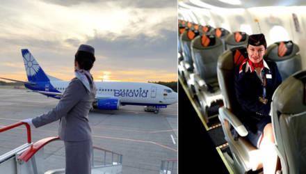 «Раньше — по 16 полетов в месяц, сейчас — до 7». Стюардесса «Белавиа» — о работе в пандемию
