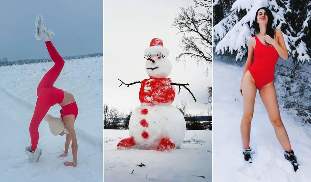 Гимнастка Станюта знойным фото запустила БЧБ-челлендж. Белорусы быстро среагировали