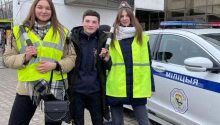 В Гомеле ГАИ и МЧС устроили праздник безопасности для самых маленьких горожан