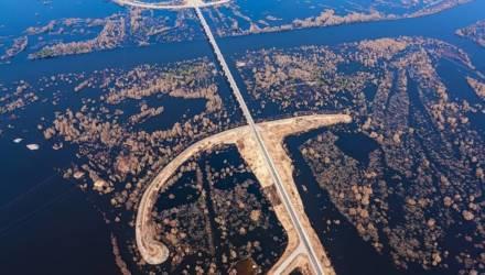 Полесская Амазонка. Посмотрите, как разливается река Припять