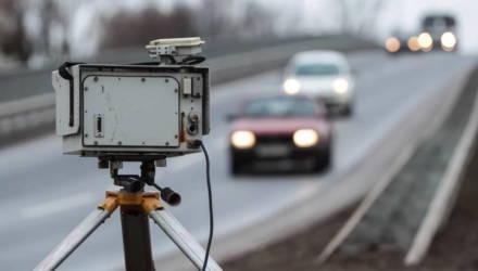 Где на Гомельщине будут установлены датчики контроля скорости в ближайшие дни