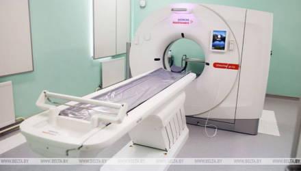 Новый компьютерный томограф установили в Мозырской городской больнице. На очереди – Калинковичи
