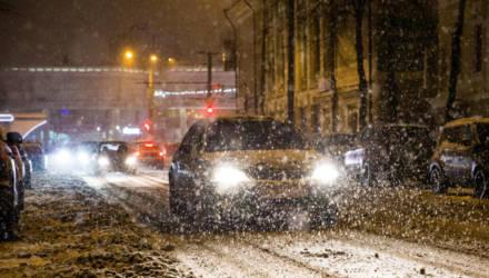 Оранжевый уровень опасности: в Гомеле 12 марта ожидаются снегопад и метель