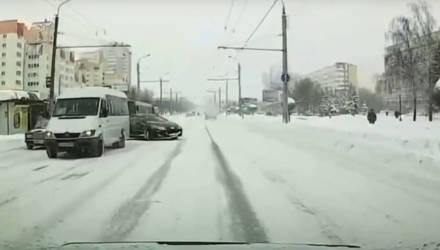 В Гомеле водителя маршрутки привлекли к ответственности за создание аварийной обстановки