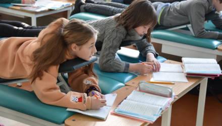 Можно учиться лёжа: в мае будет новый набор в гомельскую школу для детей с заболеваниями позвоночника