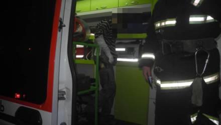 На пожаре в Гомеле трое прохожих спасли сторожа