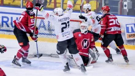 «Гомель» одержал волевую победу в Гродно и захватил лидерство в серии ЧБ по хоккею