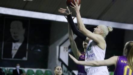 Гомельчанка Левченко стала лучшим игроком матча. Её команда снова победила