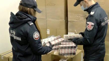 Н – настойчивость. В Польше задержали сигареты из Беларуси на 2,5 миллиона долларов