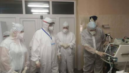 В Гомельской горбольнице № 1 завершается подготовка будущего кабинета КТ
