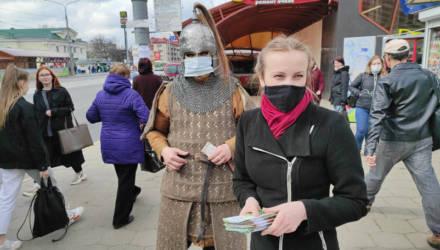 Рыцарь в маске: золотоордынский воин XV века появился в гомельском автобусе № 18. Не просто так